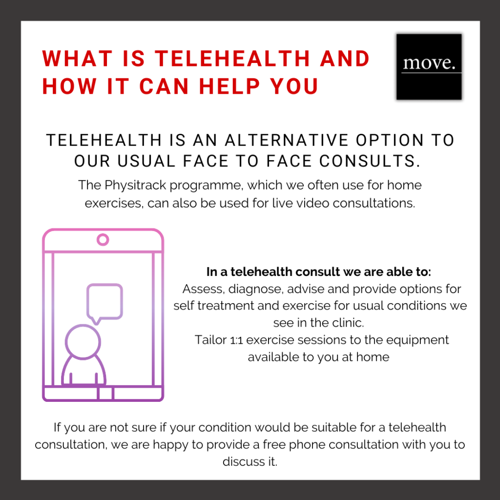 Telehealth FAQs: Physiotherapy Video Consultation